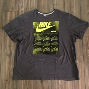 Gray Nike Air Max Shirt